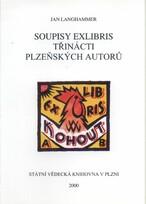 Soupisy exlibris třinácti plzeňských autorů