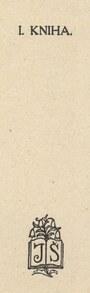 nakladatelská značka (S. Kulhánek - neuvedeno)
