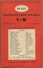10 let Osvobozeného divadla 1927-1937