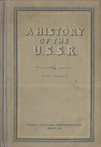 A History of the U. S. S. R
