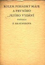 Kolem Pohádky máje a prvního jejího vydání