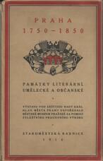 Praha 1750-1850