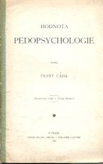 Hodnota pedopsychologie