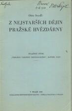 Z nejstarších dějin Pražské hvězdárny