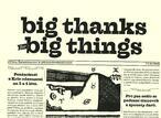 big thangs for big things