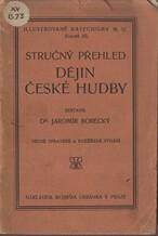 Stručný přehled dějin české hudby