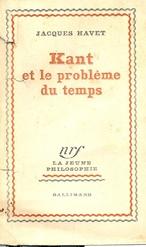 Kant et le problème du temps