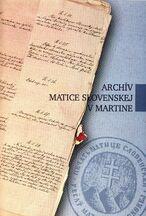 Archív Matice slovenskej v Martine