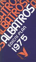 Albatros - ediční plán 1975