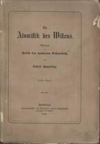 Die Atomistik des Willens