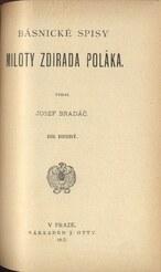 Básnické spisy Miloty Zdirada Poláka