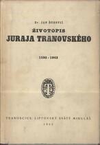 Životopis Juraja Tranovského