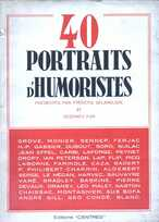 40 portraits d'humoristes
