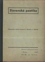 Slovenská poetika
