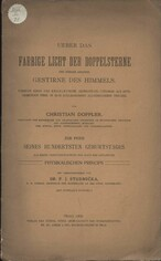 Ueber das farbige Licht der Doppelsterne und einiger anderer Gestirne des Himmels