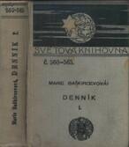 Denník Marie Baškircevové