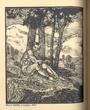 Josef Hodek - dřevoryt z cyklu Pan (s. 166) Q42B24