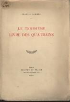 Le troisième livre des quatrains