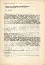 Typologie tzv. slovanského formalismu a problémy přechodu od formálních škol ke strukturalismu