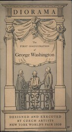 Description of the Diorama representing the first inauguration of George Washington 1789
