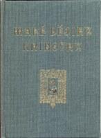 Malé dějiny knihovny. Pamětní spis