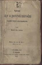 Vybrané báje a pověsti národní jiných větví slovanských