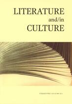 Literature and/in culture