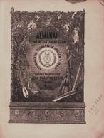 Almanah českého studentstva Akademickým čtenářským spolkem v Praze vydaný na památku jeho dvacetiletého trvání