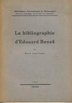 La bibliographie d'Edouard Beneš