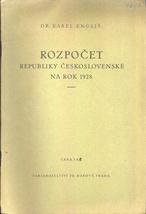 Rozpočet Republiky československé na rok 1928