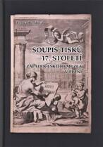 Soupis tisků 17. století Západočeského muzea v Plzni