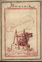 Almanach 1920 des Verlages Bruno Cassirer Berlin