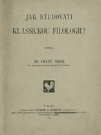 Jak studovati klassickou filologii
