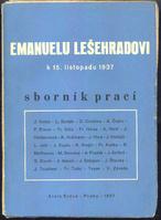 Emanuelu Lešehradovi k 15. listopadu 1937