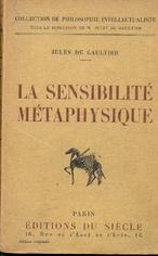 La sensibilité métaphysique