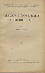 Alegorie Nové rady a Theriobulie