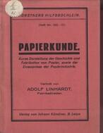Papierkunde