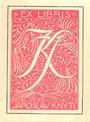 ex libris J. Knytla (F. Kobliha - neuvedeno)