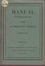 Manuál typografický