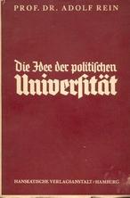 Die Idee der politischen Universität