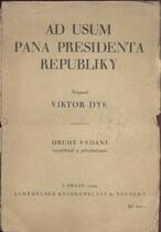 Ad usum pana presidenta republiky